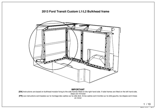 Attached Bulkhead